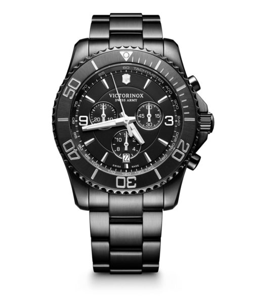 victorinox maverick chrono black edition
