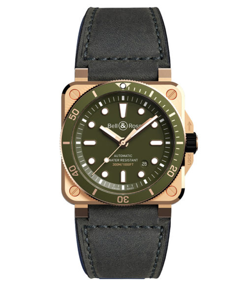 Bell&Ross BR 03-02 Diver Green Bronze